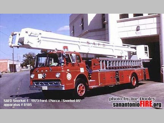 San Antonio Fire Department Pierce Aerial Ladder Trucks