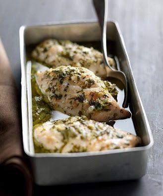 Pechugas de pollo al horno | pechugas de pollo al horno jugosas | Recetas faciles con pollo