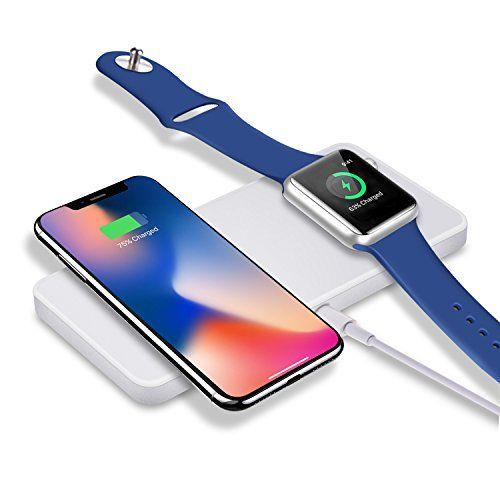 Sararoom Chargeur Sans Fil Pour Iphone 8 8 Plus X Et Apple Watch Chargeur A Induction Rapide Pour Samsung Galaxy Note Et Autres App Apple Watch Iphone Chargeur
