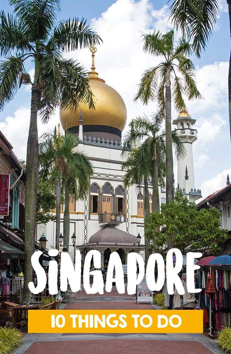 Things to do in Singapore. From temples to sky bars - the city has a lot to offer. Discover the Arabian quarter Kampong Glam, Chinatown or Sentosa Island. On our blog you will find a few more informations how to make the best out of your Singapore trip.