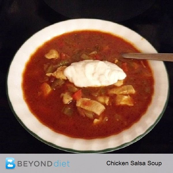 ... salsa spicy clean eating soup sports forward chicken salsa soup soup
