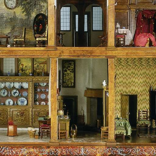 Dollhouse Miniatures Amsterdam: Doll's House Of Petronella Ootman, Jacob Appel,c. 1710