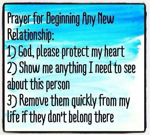 prayers for relationship breakups getting