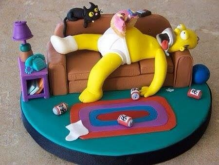 Homero durmiendo