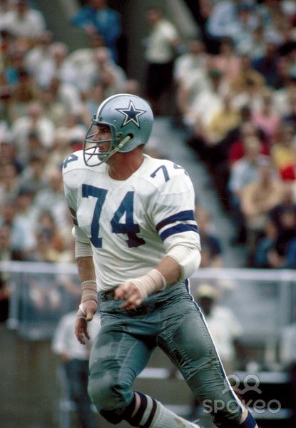   dallas cowboys defensive lineman 74   in action during the ...