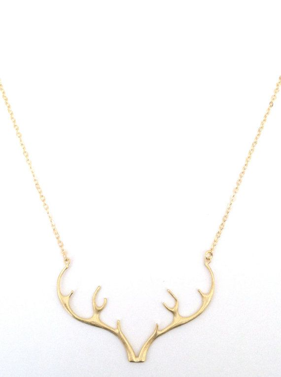 This Gold Antler Necklace is the perfect everyday piece. I created it with the resort community in mind, but it turns out it has universal appeal.