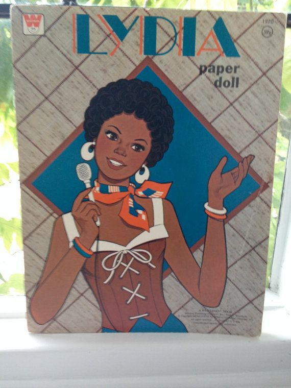 1970s doll book African american doll Paper by NannyLilasAttic