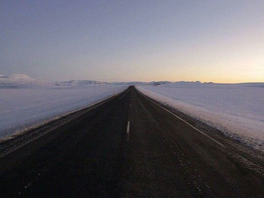 Road between Reykjavik and Geysir