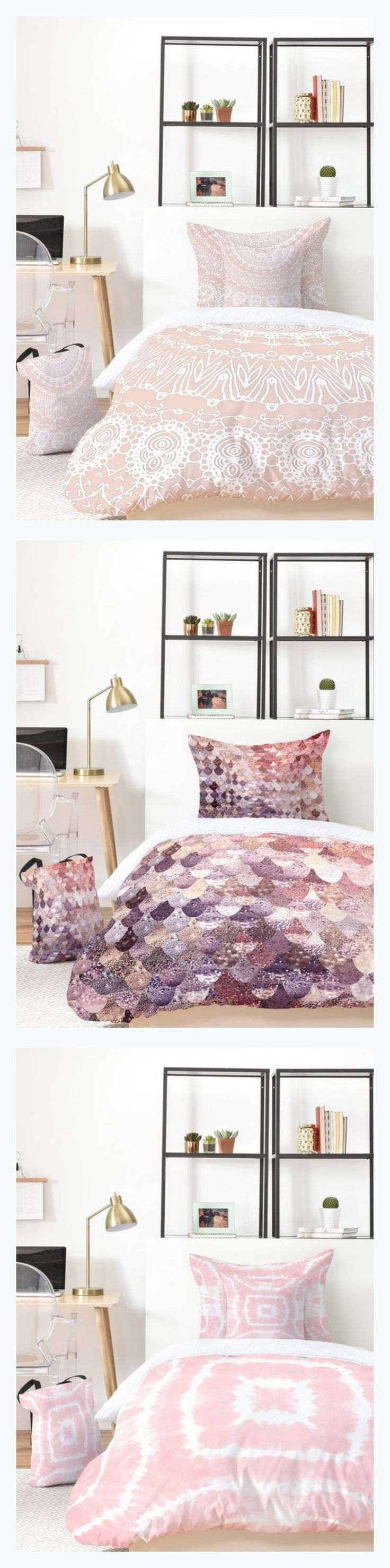 All fav blush rose ..... New duvets and home decor goods in your favourite pastel colors in my DenyDesigns shop - products starting at $19. Design Monika Strigel for @denydesigns
