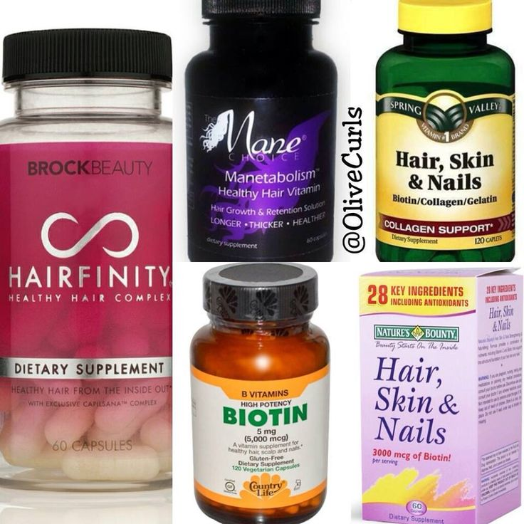 Vitamins for hair growth