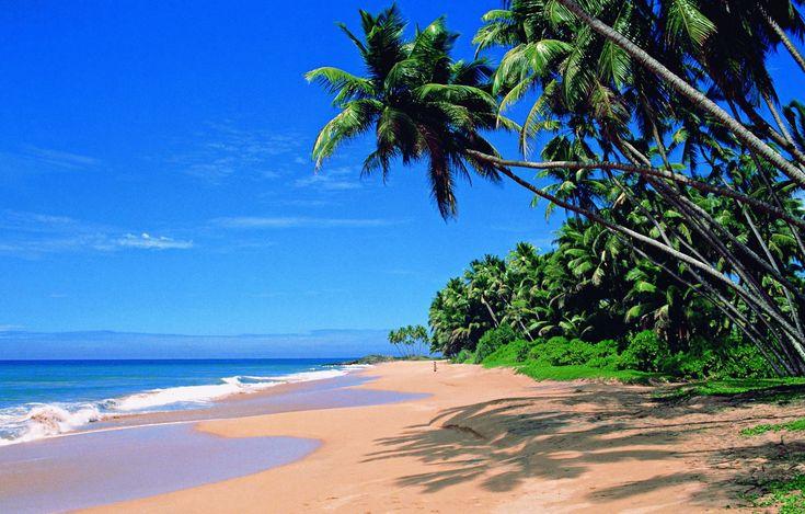 Красивые пляжи Индии, #Индия, #Гоа |