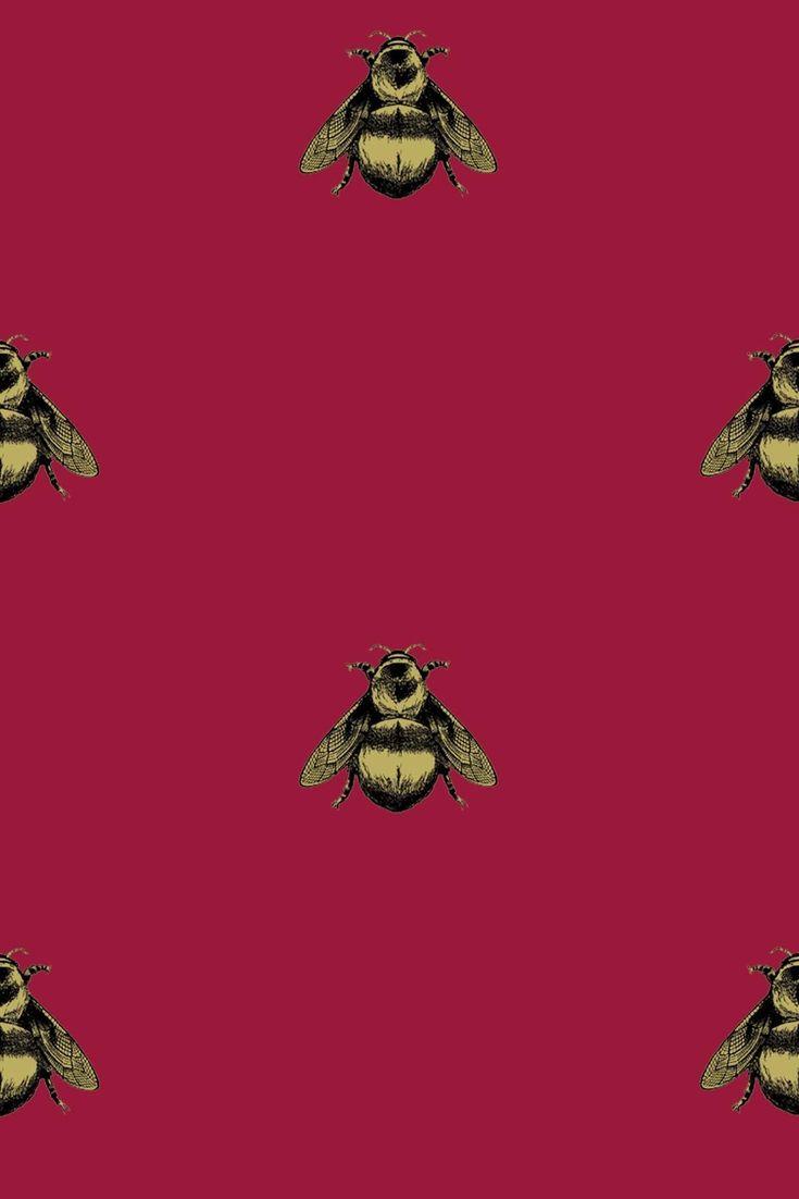 Timorous Beasties Wallcoverings - Napoleon Bee
