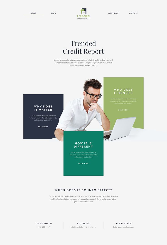 Web Design | TCR on Behance