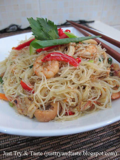 Just Try & Taste: Resep Bihun Bumbu Kari ala Thai