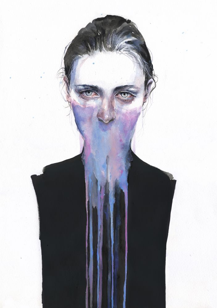 New Watercolors by Agnes Cecile: 97b696cdf56501a9fea1cba7fd0d7006.jpg