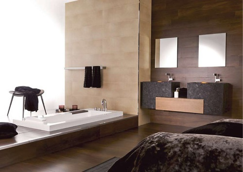 10 modern minimalist bathroom design ideas from porcelanosa