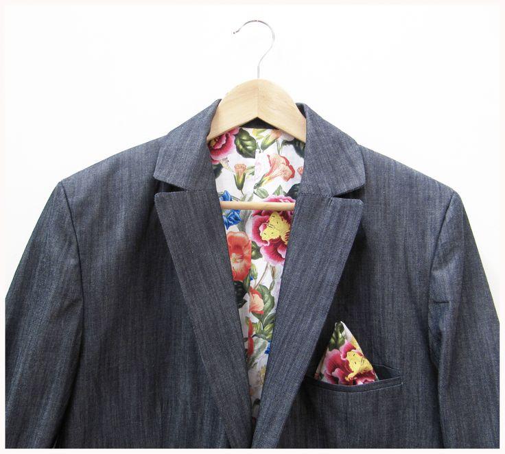 Traje de hombre a medida.  bespoke tailored suit www.ropadesastre.com