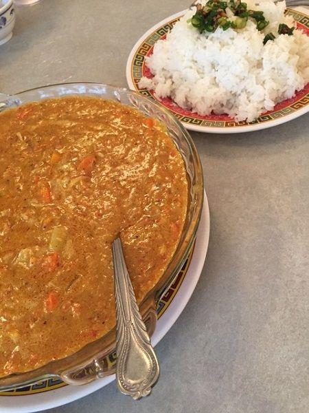バクナム 蟹カレー