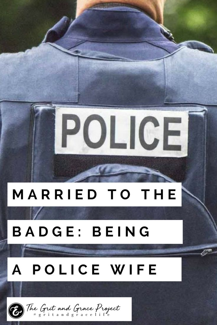 A police officer's wife shares what it's like being married to the badge 💙  police, police lives matter, married to the badge, married to an officer, police advocate, police support, support police #gritandgracelife