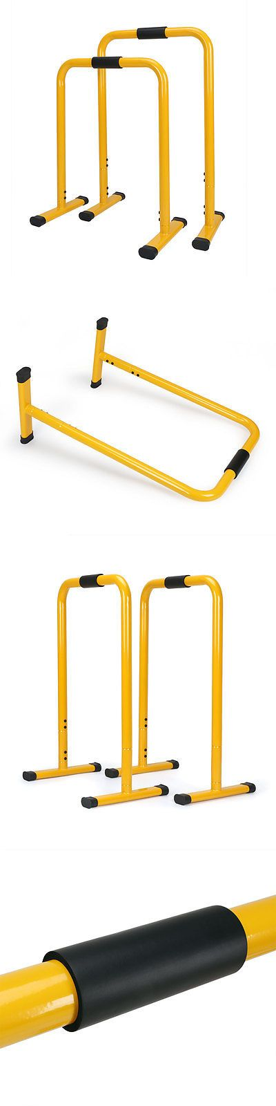 Push Up Stands 158925: Dip Station Bars Body Press Dip Stand -> BUY IT NOW ONLY: $76.99 on eBay!