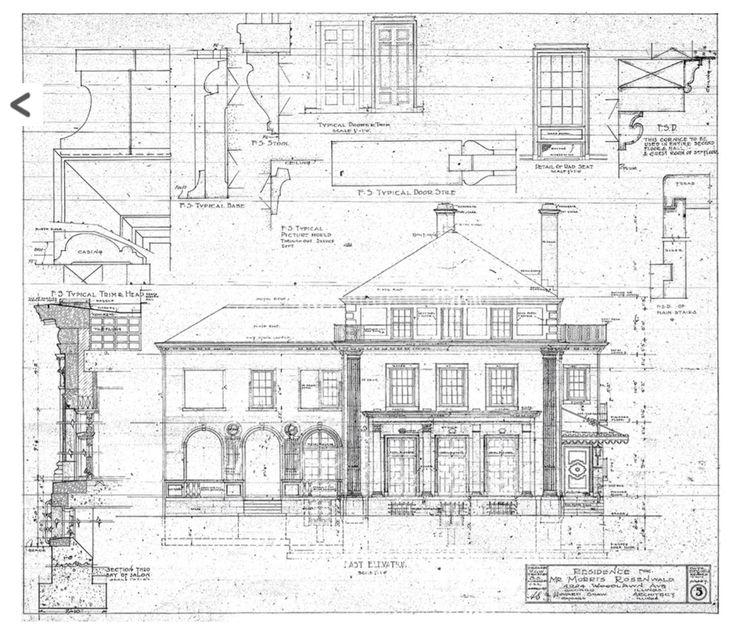 Van Doren Shaw Mansion - elevation