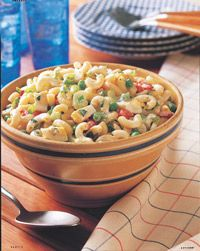 Easy Macaroni Salad - Healthy Recipe Finder | Prevention I gotta find a way to do this without mayo! maybe just more sour cream?