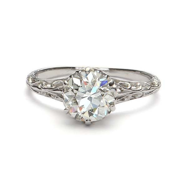 Replica Edwardian Engagement Ring - 1320-01