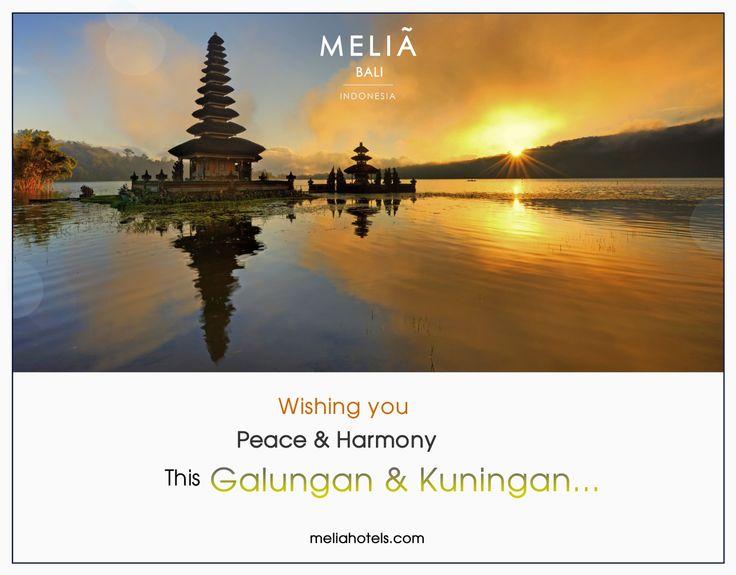 Rahajeng Nyanggra Rahinan Galungan lan Kuningan Selamat Hari Raya Galungan dan Kuningan untuk umat Hindu Wishing you a happy Galungan and Kuningan fir the Hindus