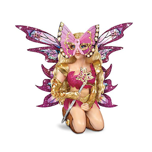 Butterfly Warrior Fantasy Doll