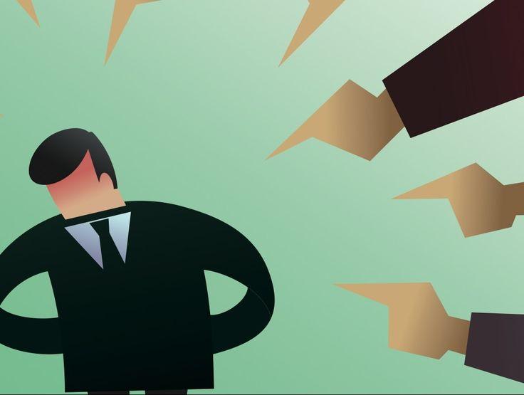 Au bureau, à l'école ou dans une communauté, il y a toujours un bouc émissaire