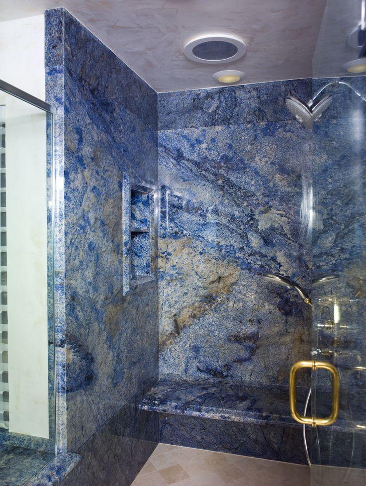 33 Best Vivid Blue Granite Countertops Images On Pinterest