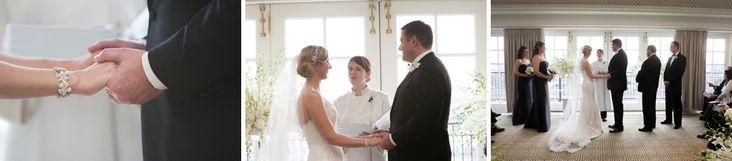 Laura Cannon performs wedding ceremony at Hay Adams Hotel  Washington DC