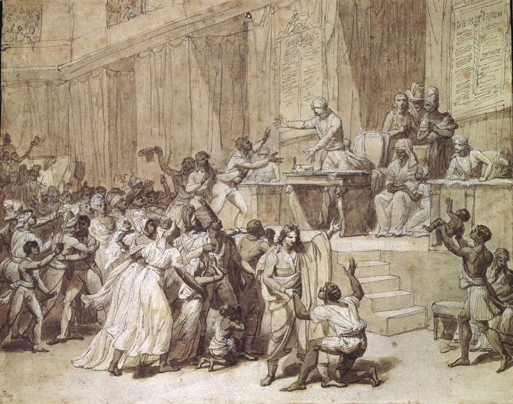 L'abolition de l'esclavage par la Convention, le 16 pluviôse an II / 4 février 1794.