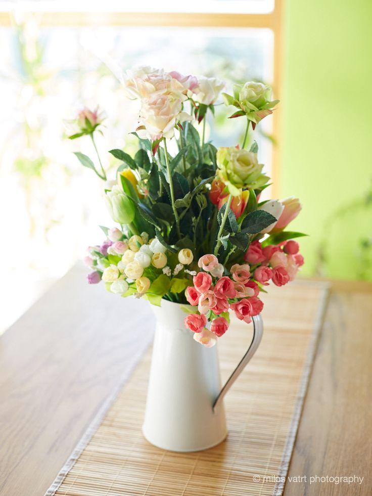 artificial flowers  / miloš vatrt photography / studio  / my studio decorations