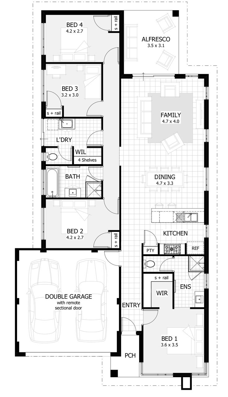397 best 2016 house plans images on pinterest floor plans100    4 Bed House Plans     Open Concept 4 Bedroom 3 Bath House  . Bath House Design Ltd. Home Design Ideas