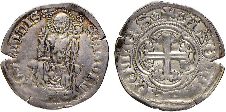 NumisBids: Nomisma Spa Auction 51, Lot 1310 : COMO Azzone Visconti (1335-1339) Soldo – Bellesia 4 AG (g 1,31) RRR...