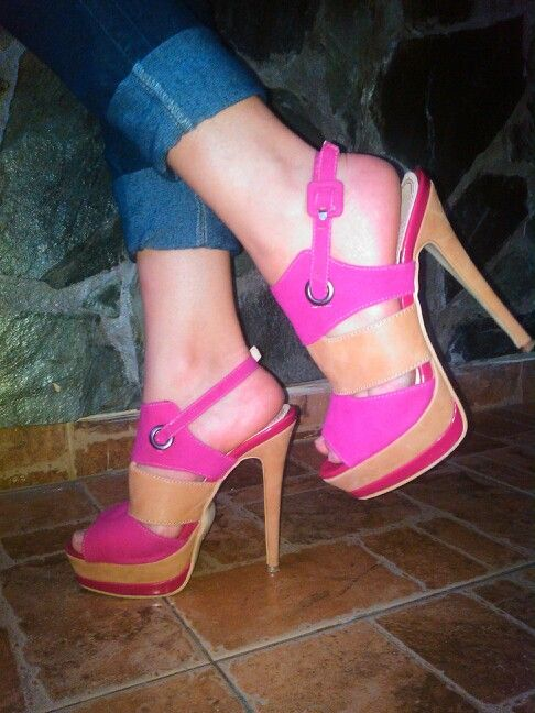 Fucsia shoes