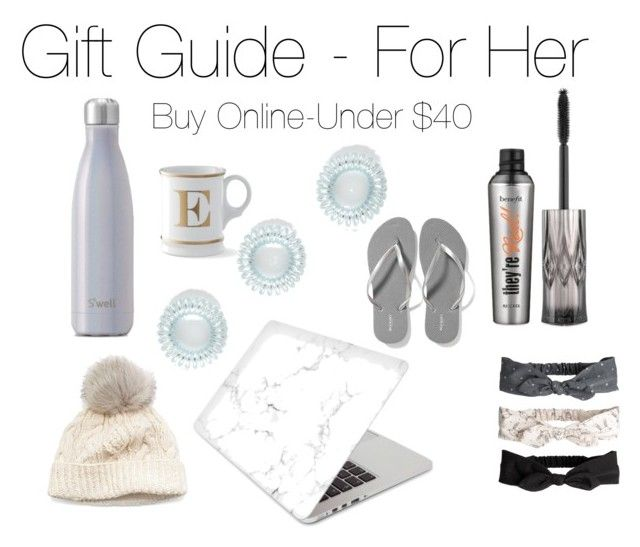 gift guide by britney-lynn on Polyvore featuring Old Navy, Recover, SIJJL, Benefit and Williams-Sonoma