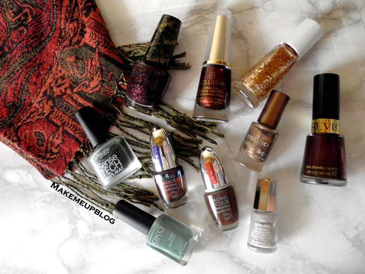 Tag: The Ultimate Autumn Challenge - I miei smalti autunnali | makemeupblog