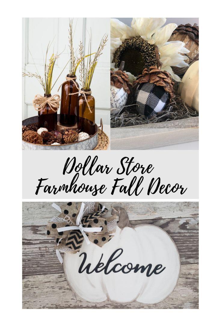 Dollar Store Fall Decor~