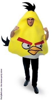 Rovio Angry Birds - Yellow Angry Bird Adult Costume