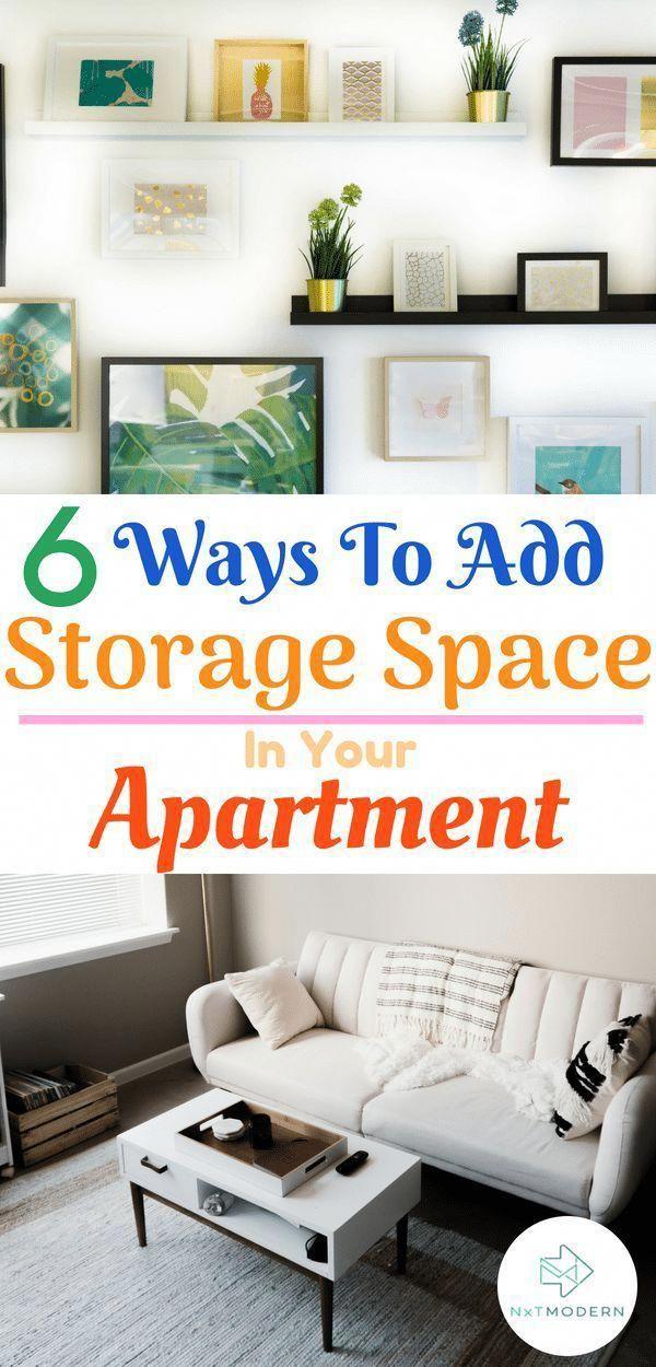 storage space ideas for your apartment apartment homedecor rh pinterest com
