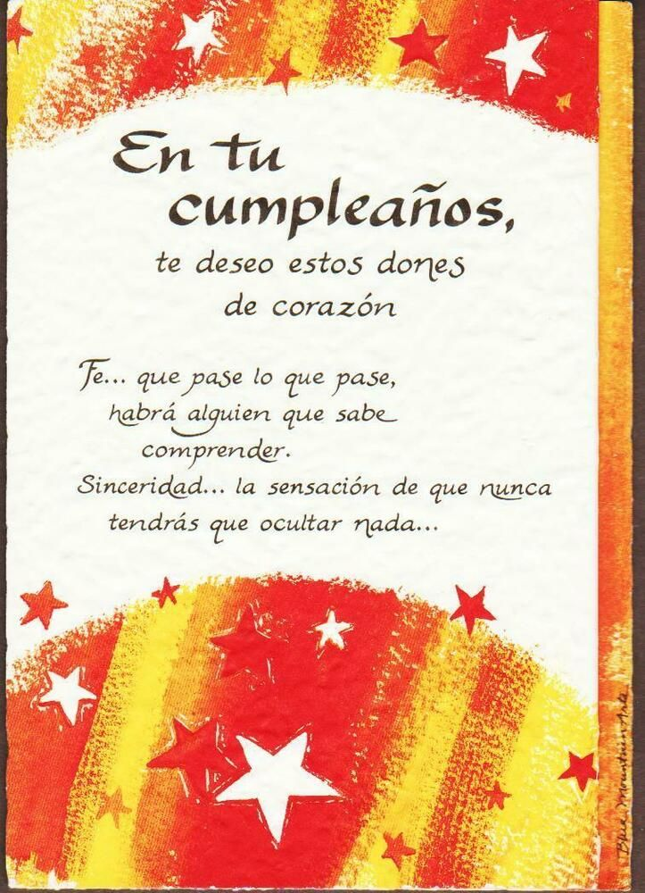 Spanish Blue Mountain Arts Greeting Card Birthday Bluemountainarts Birthday Birthday Greeting Cards Happy Birthday Gifts Funny Birthday Cards