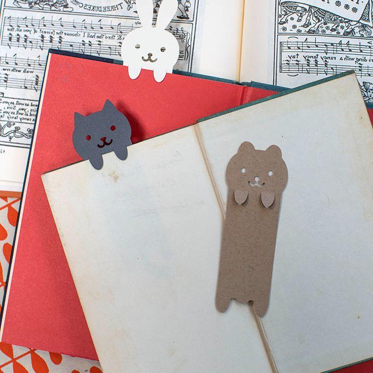 Marque-pages animaux a decouper                                                                                                                                                      Plus