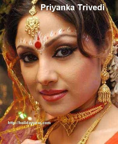 Nov 9 - Priyanka Trivedi, Indian Actress was Born Today. For more famous birthdays http://holidayyear.com/birthdays/