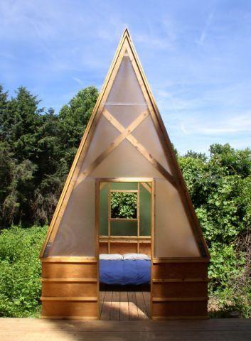 swamp hut sleeping hut
