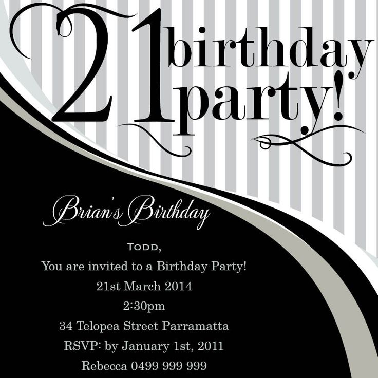 invitation wording for networking event%0A   st invitations black and white  Google Search