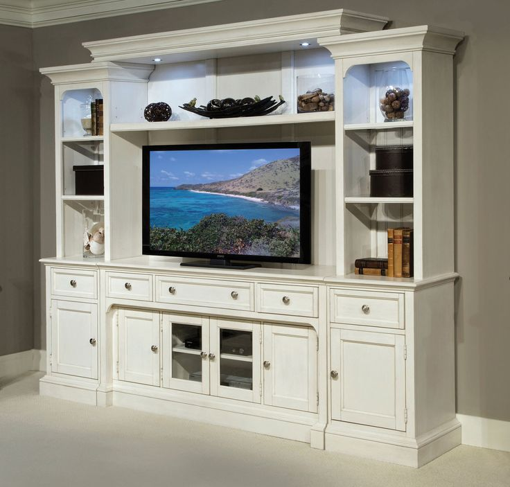 Laurel Garden Entertainment Wall | Magnussen Furniture | Home Gallery Stores