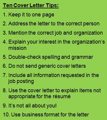 10 basic cover letter tips youll need a great and cover letter to find a new job we write amazing interview winning cvs