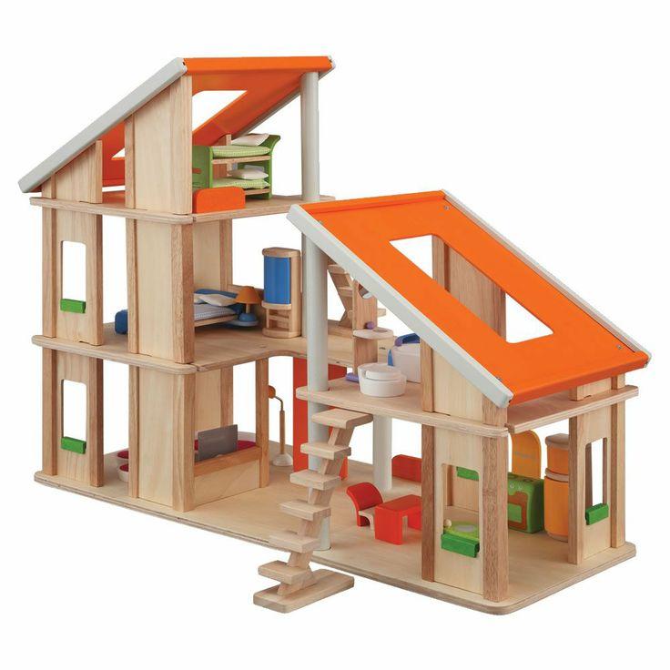 Chalet Dollhouse option for Christmas Oompa.com.